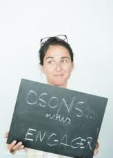 Alexandra Siarri - Rencontre avec les jeunes d'Osons Ici et Maintenant - juillet 2015